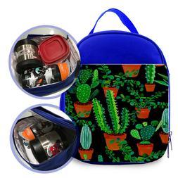Cacti  Custom Printed Kids Lunch Bag / Lunch Box