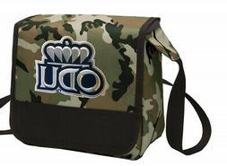 Camo Old Dominion University Lunch Bag Shoulder ODU Lunch Bo