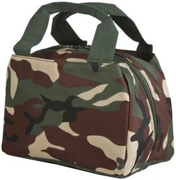 Camo Thermal Insulated Lunch Box Cooler Bag Cute Womens Teen