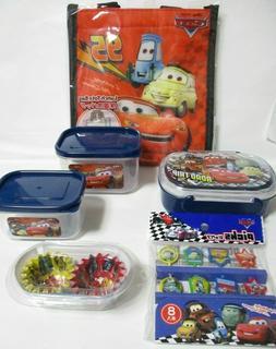 Disney Cars Bento Lunch Box Picks Bag Onigiri Case 4SET From