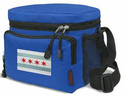 Chicago Flag Lunch Bag Tote BEST Lunch Box Cooler WELL MADE!