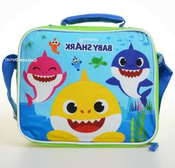 Baby Shark Lunch Box Bag Tote Insulated School Travel Bag Bo