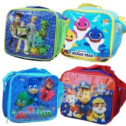 Childrens Insulated Lunch Pack Box Bag Kids Boys Girls Schoo