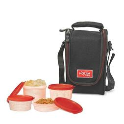 Milton Compact Lunch Bag with 4 Soft Insulated Meal Prep Box