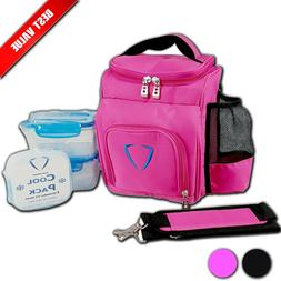 Cooler Bag Insulated Lunch Box Tupperware Lunch Bag Ladies I