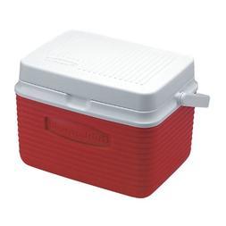 Rubbermaid Cooler, 5 Quart, Red FG2A0904MODRD