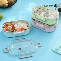 CUTE Japanese Stainless Lunch Box Containers for Kids Women