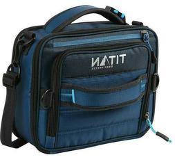 Titan Deep Freeze Expandable Lunch Box with 2 Ice Packs & Le