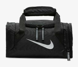 Nike Deluxe Mini Duffle Style Insulated Tote Lunch Bag Black