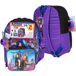 Disney Descendants Girl School Backpack Lunch Box Book Bag 5