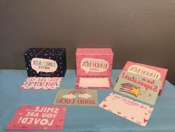 Designer Lunch Box Notes 24 Cards Kids School Lunchbox Inspi
