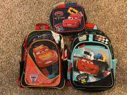 Disney Pixar Cars Backpacks And Lunch Box Lightning McQueen