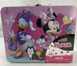 Disney Junior Minnie 24 Piece Puzzle With Lunch Box/Carrying