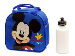 Disney Mickey Mouse Lunch Box Bag with Shoulder Strap and Wa
