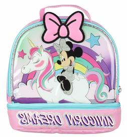 Disney Minnie Mouse Girl Thermos Insulated School Lunch Box