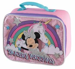 Disney Minnie Mouse Girls Thermos Insulated School Lunch Box