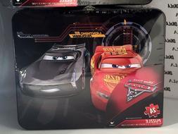 Disney Pixar Cars 3 - 24 Piece puzzle in old school metal lu