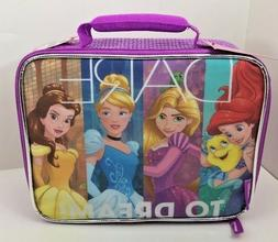 Disney's Princeses Lunch Box Kit Food Storage Container Girl