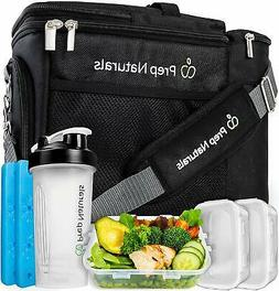 Durable Insulated Lunch Box for Men Lunch Meal Prep Cooler B