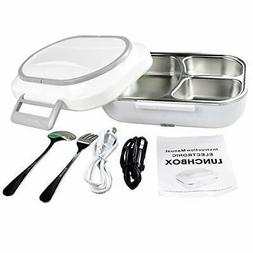 Lomejor Electric Heating Lunch Box Car Home )