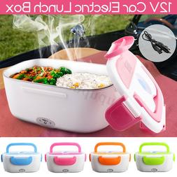 Electric Lunch Box Food Heater Portable Meal Warmer Stove Fo