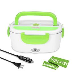 YISSVIC Electric Lunch Box Food Heater Car and Home Use Port