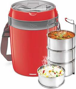 MILTON Electron Hot Lunch Box Electric FREE SHIPPING *color