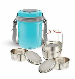 Milton Electron Stainless Steel Lunch Box Electric Hot Case