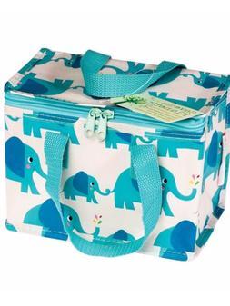 Elvis the elephant lunch box bag boys kids school lunch picn