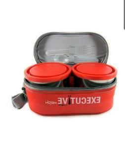 Milton Executive Lunch Box-3 Pieces-260 Ml-Orange