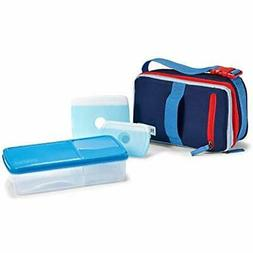 Expandable Lunch Boxes Bento Kit, Insulated Bag With BPA-Fre