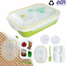 FDA Bento Lunch Box - Meal Prep Containers Microwavable - BP