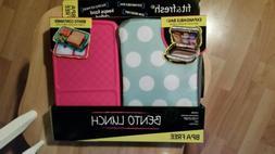 Fit & Fresh Girls Personalized Lunch Box Bento Box Set