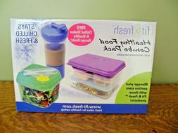 Fit & Fresh Healthy Food Combo Pack Lunch Containers 12 Piec
