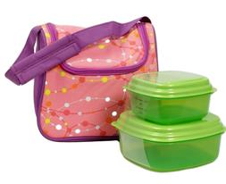 Fit n Fresh Lunch Box Bag Morgan Chiller Reusable Containers