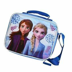 Frozen 2 FRELB Bag with Strap Lunch Box, small, Blue