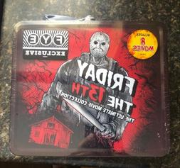 FRIDAY THE 13TH FYE EXCLUSIVE METAL LUNCH BOX COMPLETE 1-8 D