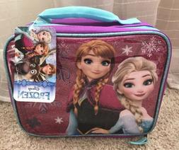 Disney Frozen Lunch Box Kit Food Storage Container Kids Girl