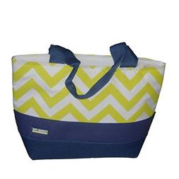 Fridge Pak Fully Insulated Cooler Tote Lunch Box Blue Green