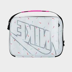 NIKE FUTURA FUEL Insulated Lunch Box Bag Tote Pink White Kid