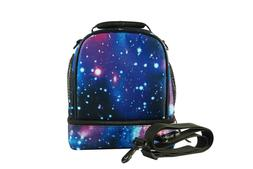 Galaxy Lunch Box Lunch Bag for Boys and Girls with Detachabl