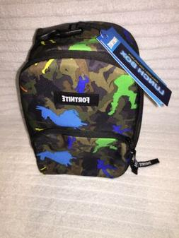 FORTNITE Game DANCE CAMO Lunch Box Tote School Bag Lunch Bag