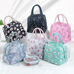 Girls Portable Insulated Bags Lunch Bag Student Waterproof T