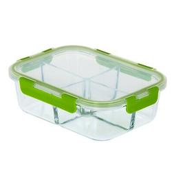 Royalford Glass Food Storage Container Oven Microwave Freeze