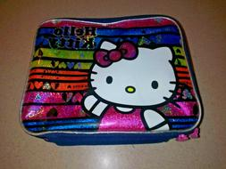 HELLO KITTY Thermos Insulated Lunchbox- Colorful Glitter Sto