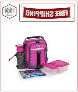 Arctic Zone High-Performance Dual-Compartment Lunch Box Pink