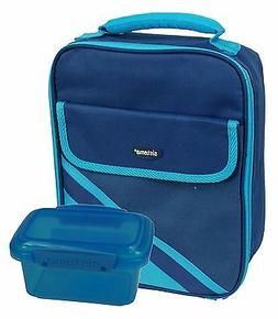 Sistema Insulated Blue Lunch Cooler with 1 Blue 400ml Storag