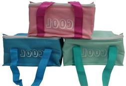 Insulated Cooler Bag Lunch Box With Airtight Container & Ice