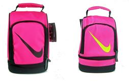 Nike Insulated Dome Lunch Box Tote School Bag Girls Pink New