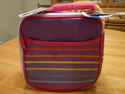 insulated insulated lunch box striped set containers